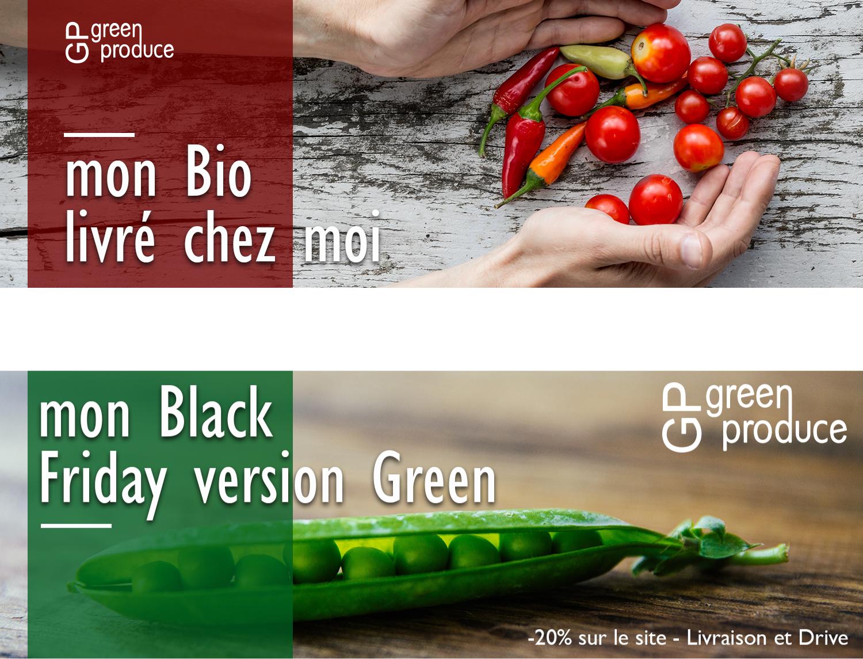 bannières produits bio