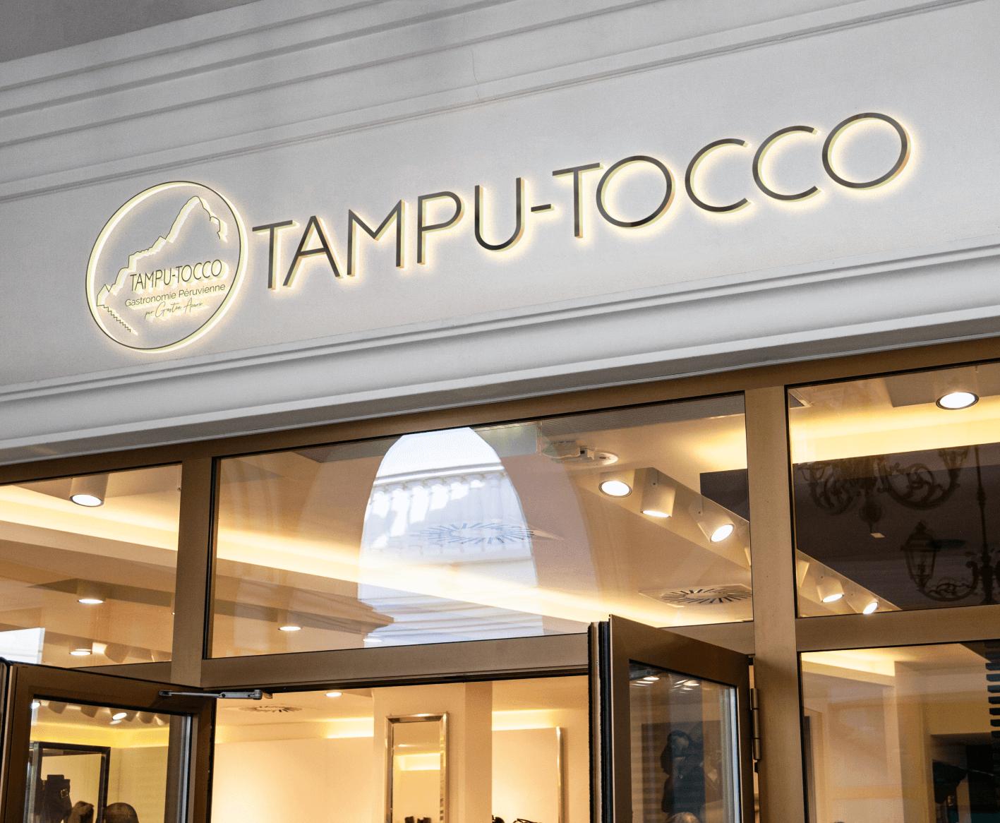 Signaletique TampuTocco facade