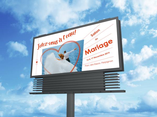 affiche-salon-du-mariage-perpignan-billboard
