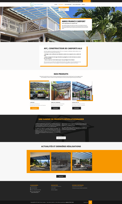 web-design-page-accueil-france-carport